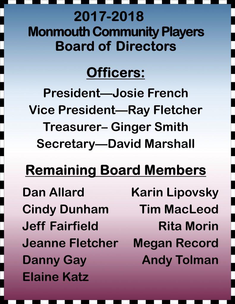 MCP Board 2017-2018