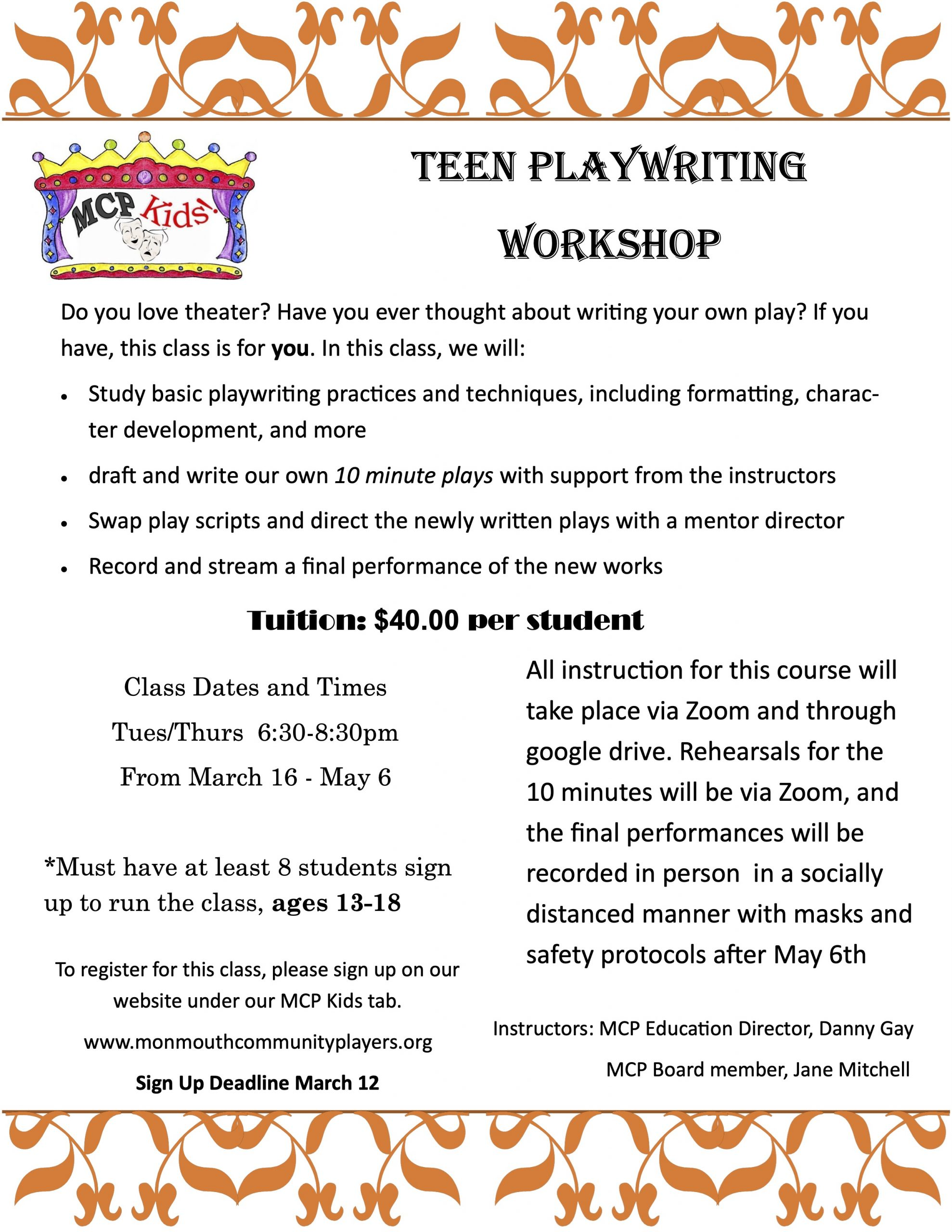Teen-Playwriting-Poster